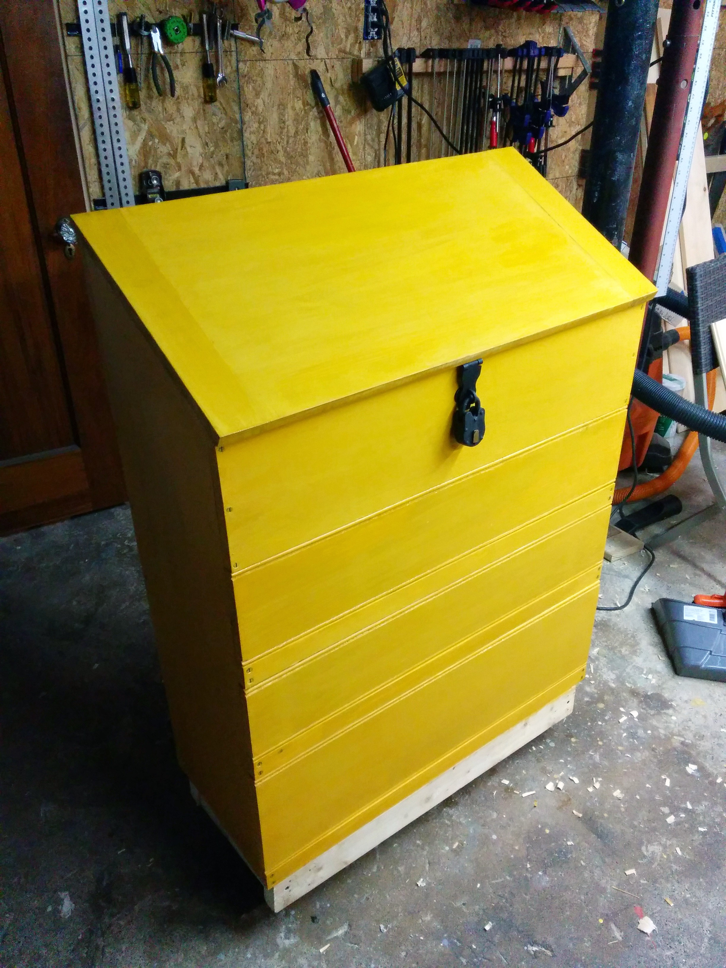 The tool chest I built.